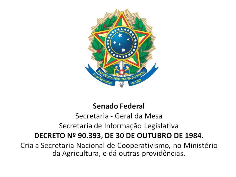 Secretaria Nacional do Cooperativismo – SENACOOP