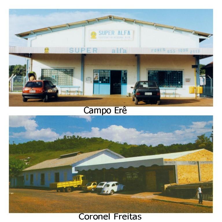 Agência em Coronel Freitas e Campo Erê