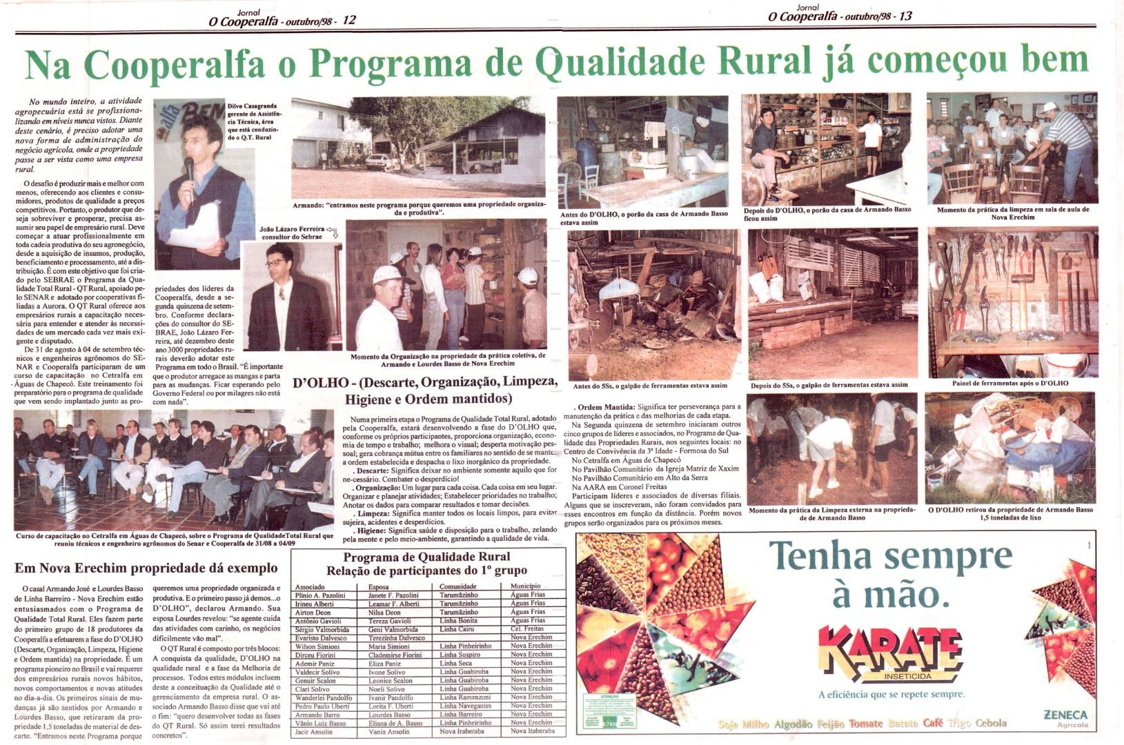 Programa de Qualidade Total Rural – QT Rural