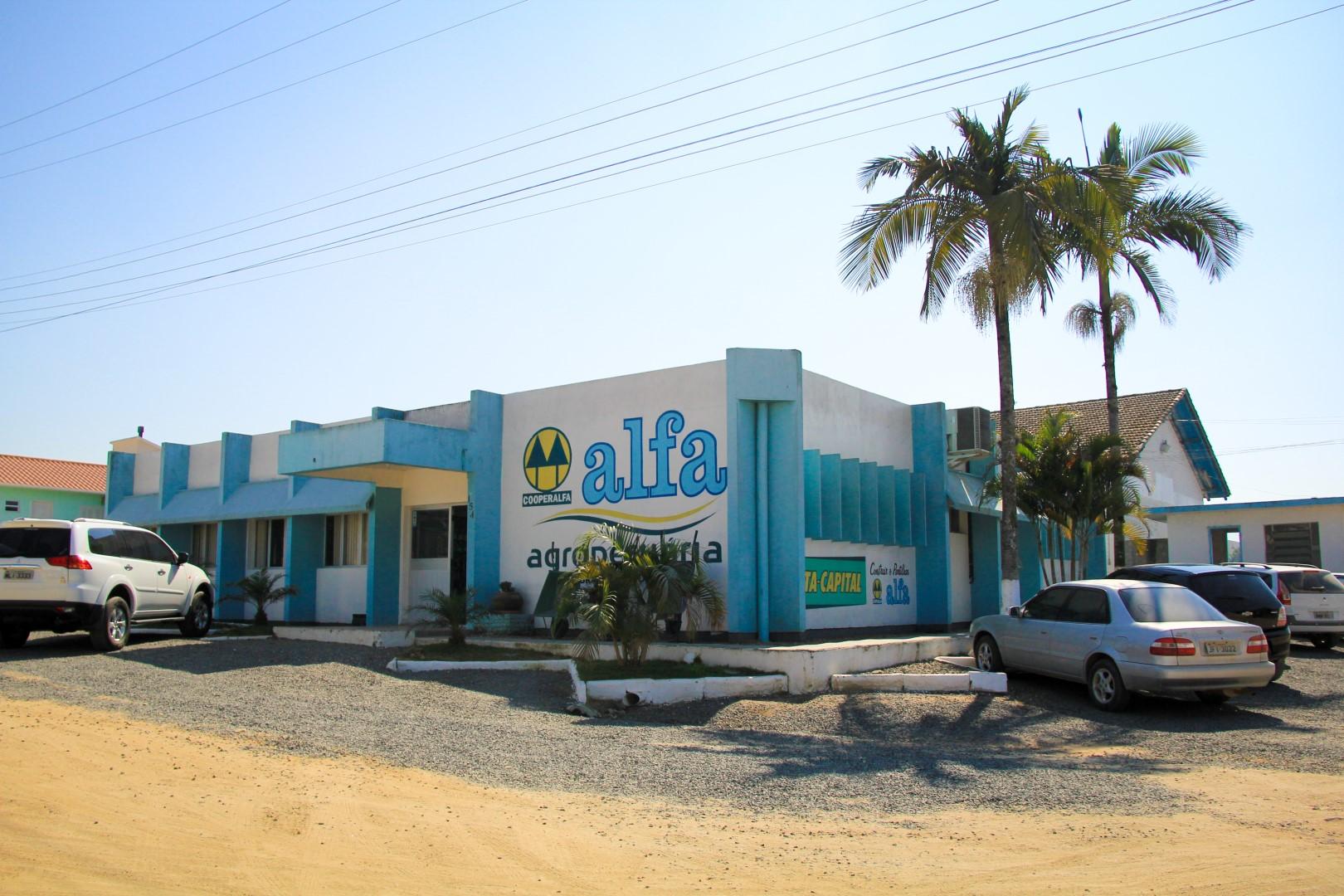 Alfa no Sul catarinense
