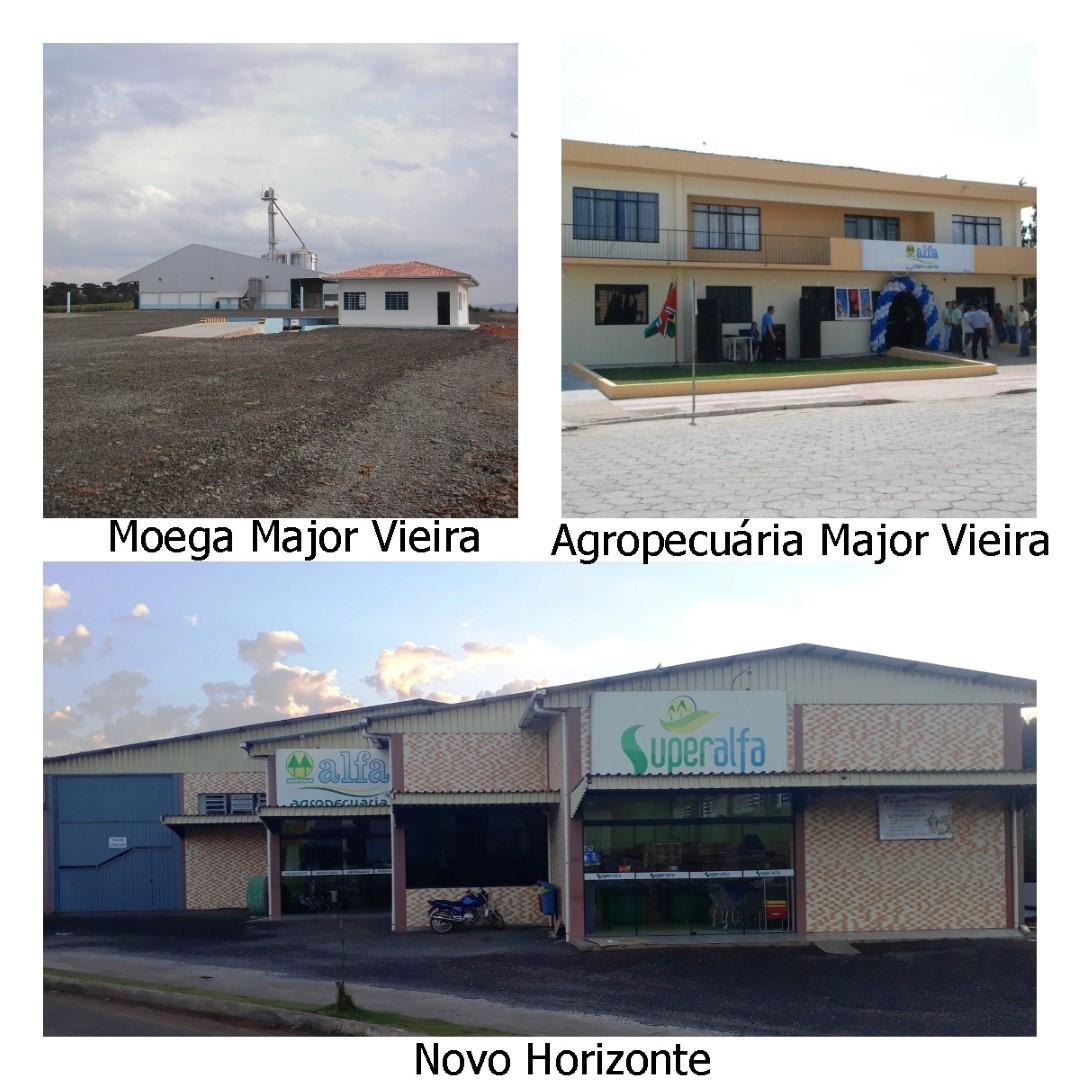 Investimento em Novo Horizonte e Major Vieira
