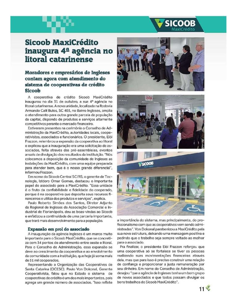 Mais uma agência em Florianópolis