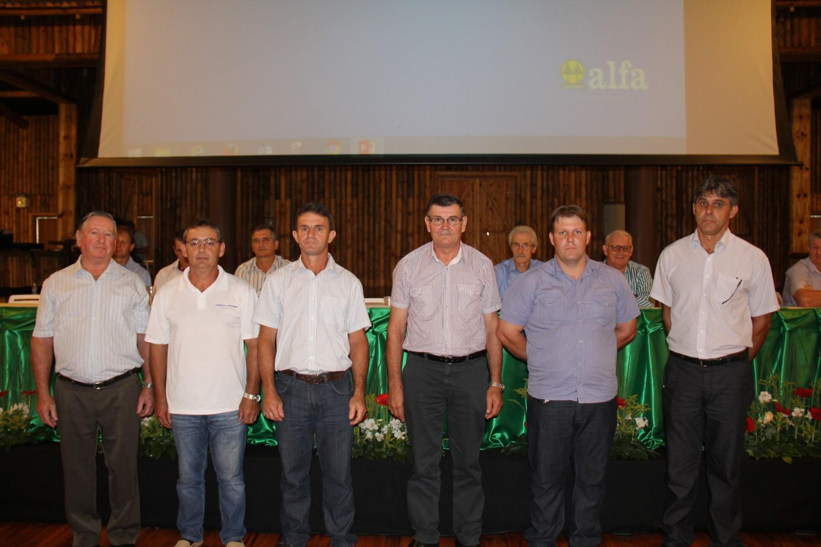 Conselho fiscal eleito em 16 de fevereiro de 2016