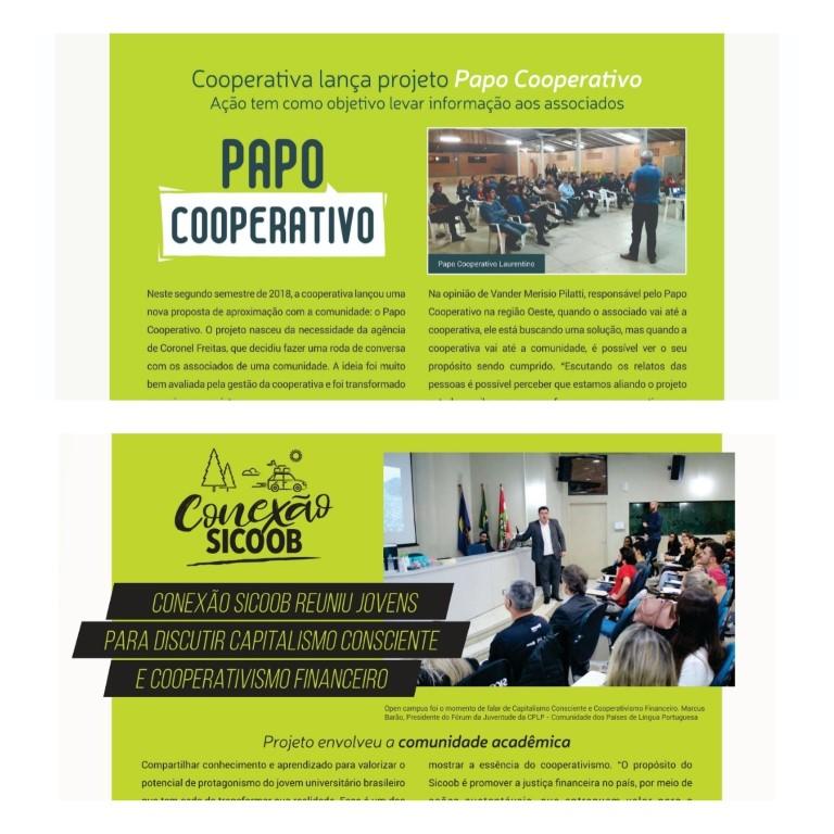 Papo Cooperativo e Conexão Sicoob