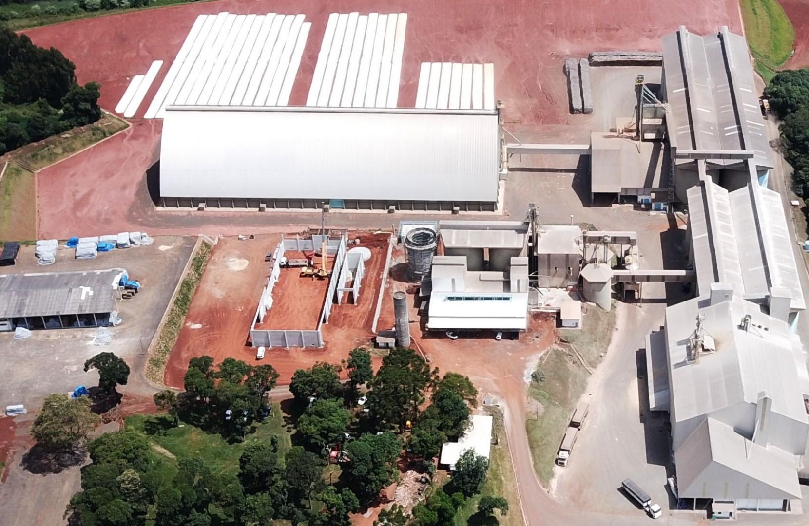Ampliação da planta industrial da Nutrisoja e nova indústria de milho extrusado