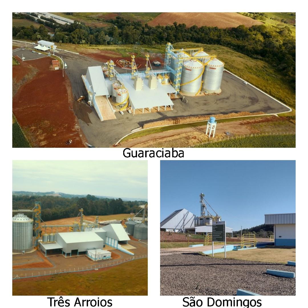 Ampliando estruturas de recebimento de grãos