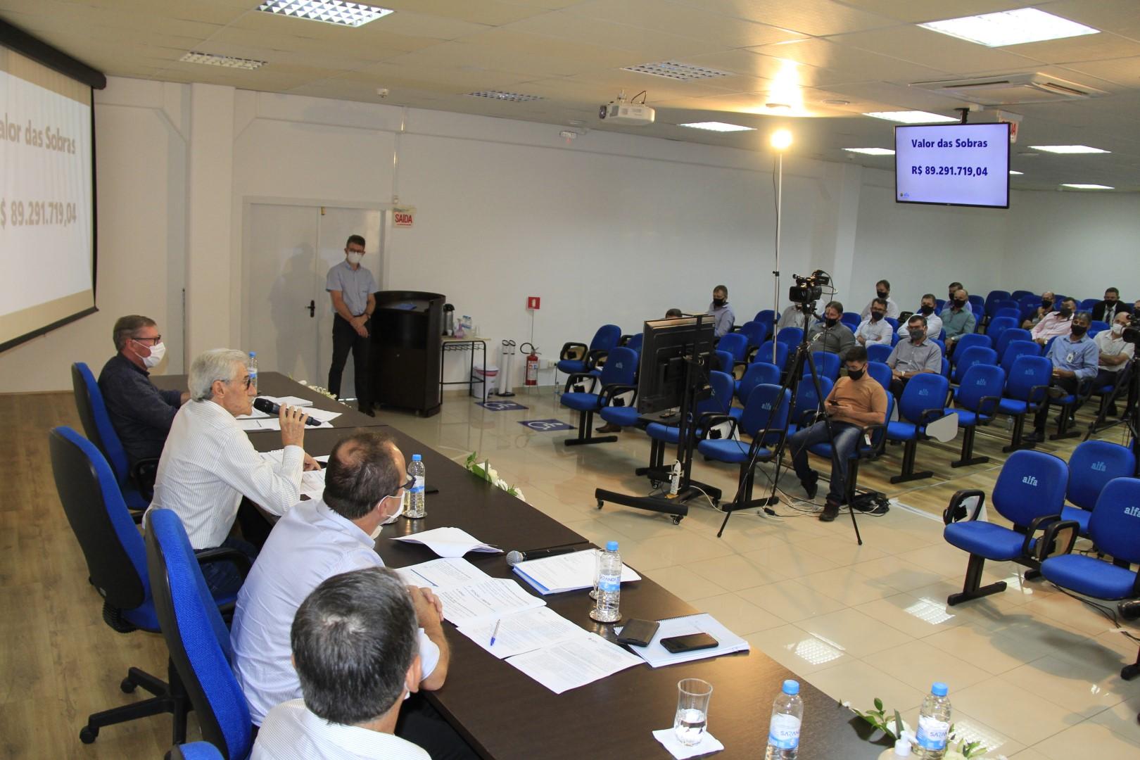 Primeira assembleia e eleição de conselho de administração online